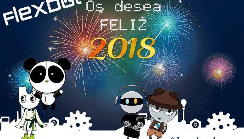 Año Nuevo Flexbot Resumen del 2017
