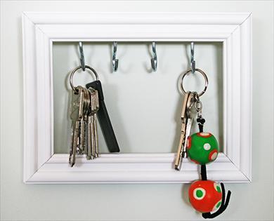 Marco colgador de llaves