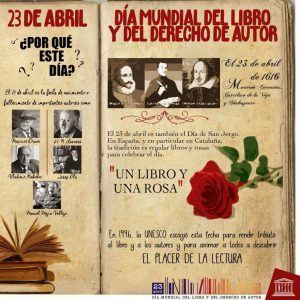 Día del Libro Cartel UNESCO