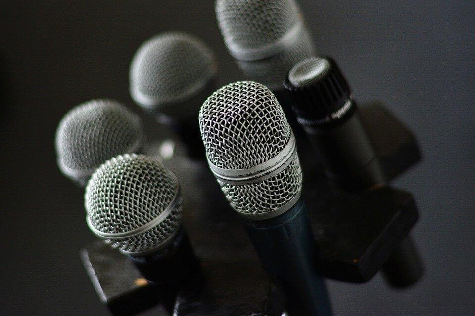 elegir micrófonos
