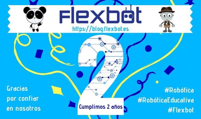 Segundo Aniversario Flexbot