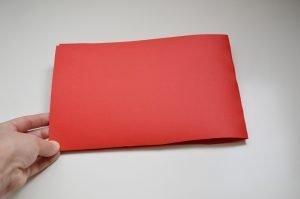 Cartulina roja