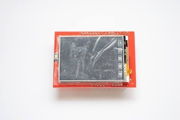 Pantalla LCD TFT táctil
