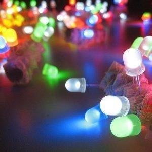 LEDs de colores
