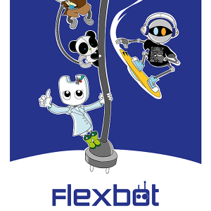 Poster descargable robots Flexbot