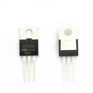 Transistor mosfet IRF520