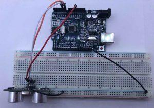 Circuito sensor HC-SR04