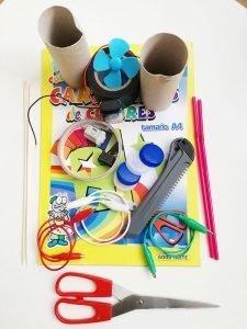 Materiales coche de juguete