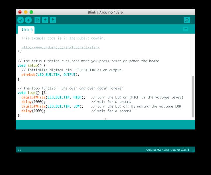 Estructura básica del código Arduino