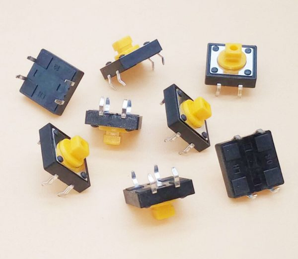 Interruptor grande amarillo