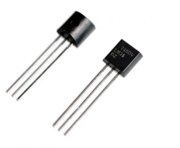 sensor de temperatura lm35dz