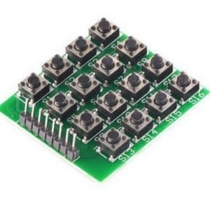 teclado matricial 16 botones
